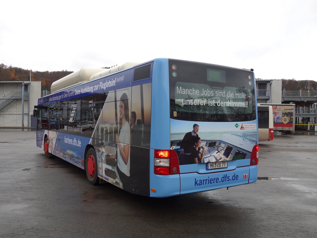 Germany, MAN A21 Lion's City NL313 CNG # 77