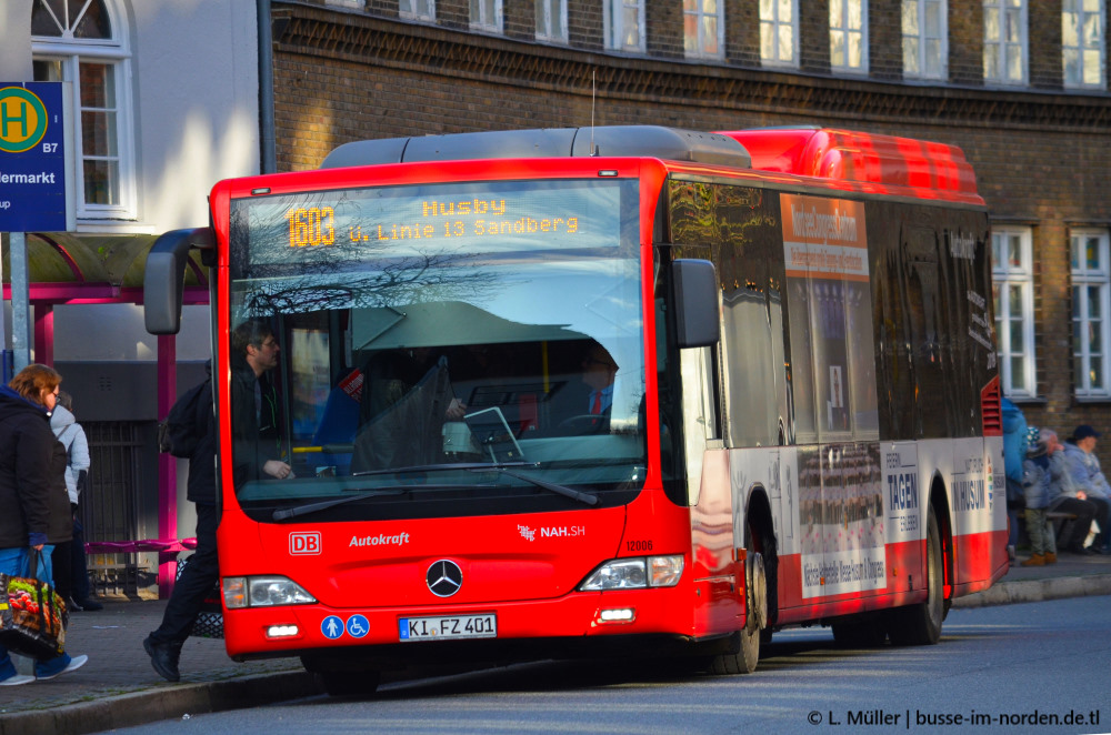 Germany, Mercedes-Benz O530 Citaro LE MÜ # 12006