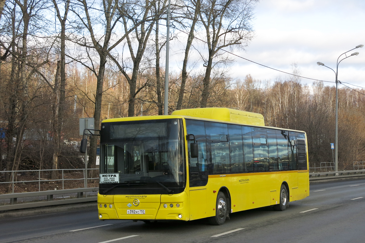 Moscow region, Golden Dragon XML6125CN # С 392 ХС 750
