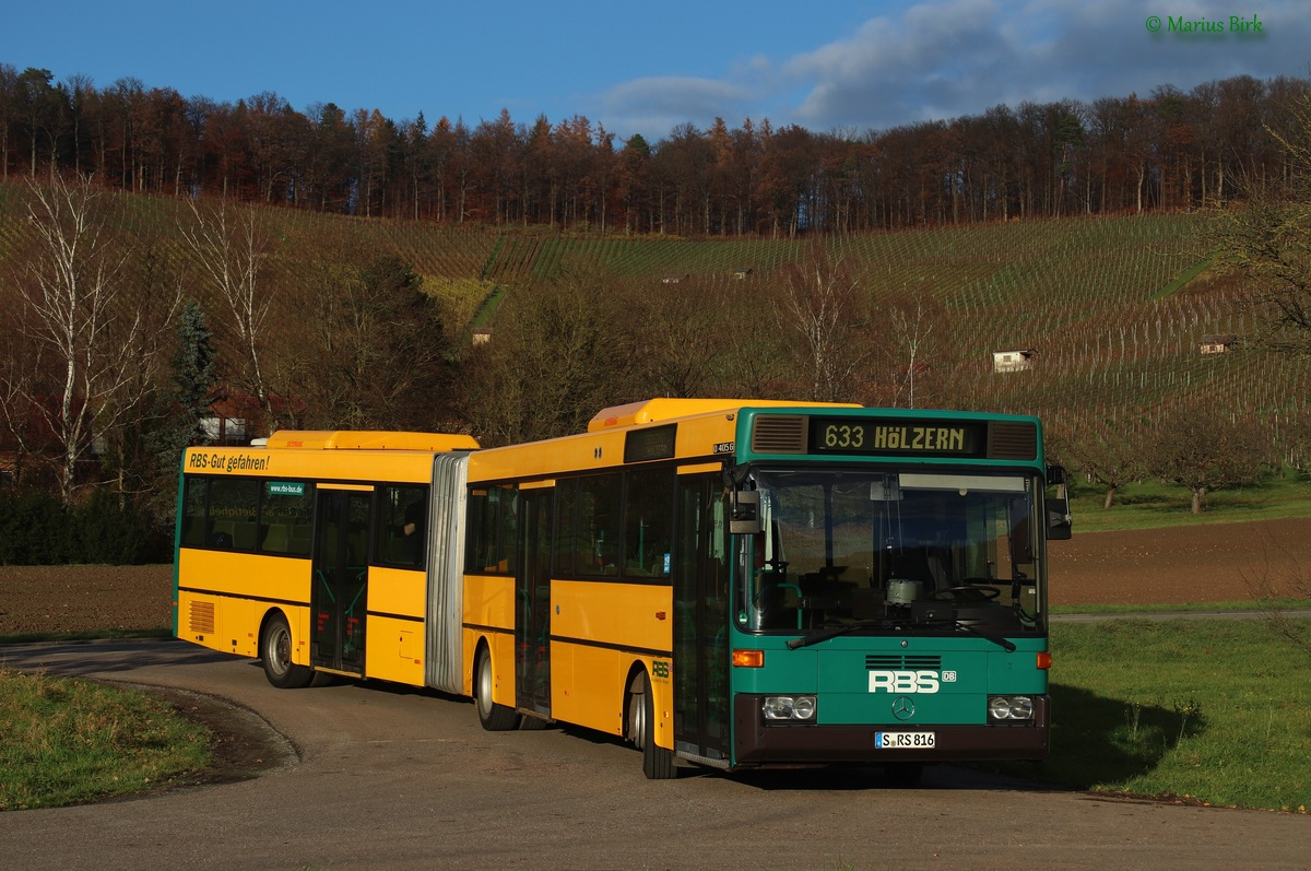 Germany, Mercedes-Benz O405G # 816