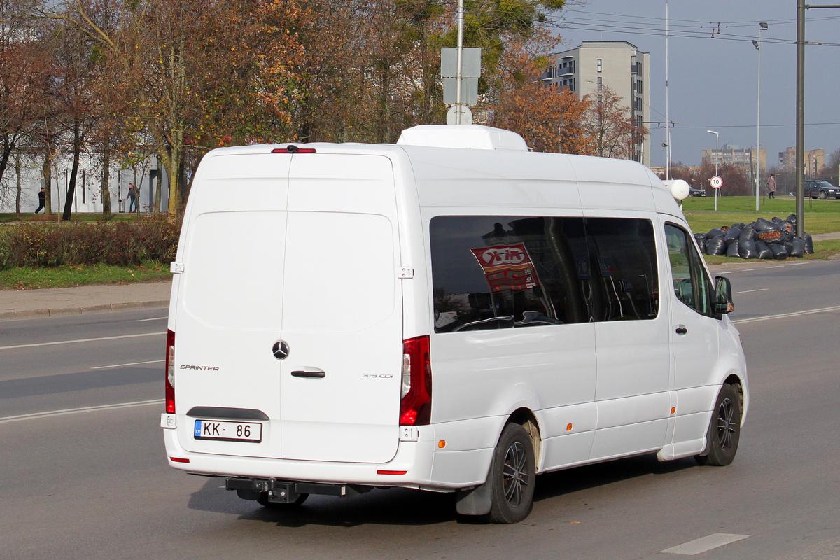 Latvia, Mercedes-Benz Sprinter 313CDI # KK-86