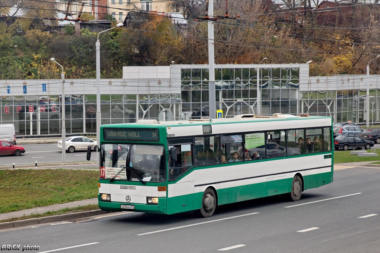 Vladimir region, Mercedes-Benz O405 # Х 654 НА 33