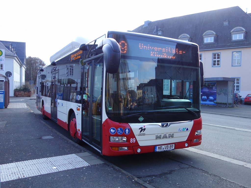 Germany, MAN A21 Lion's City NL313 CNG # 89