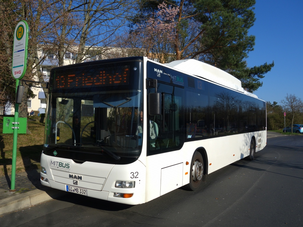 Germany, MAN A21 Lion's City NL313 CNG # 32