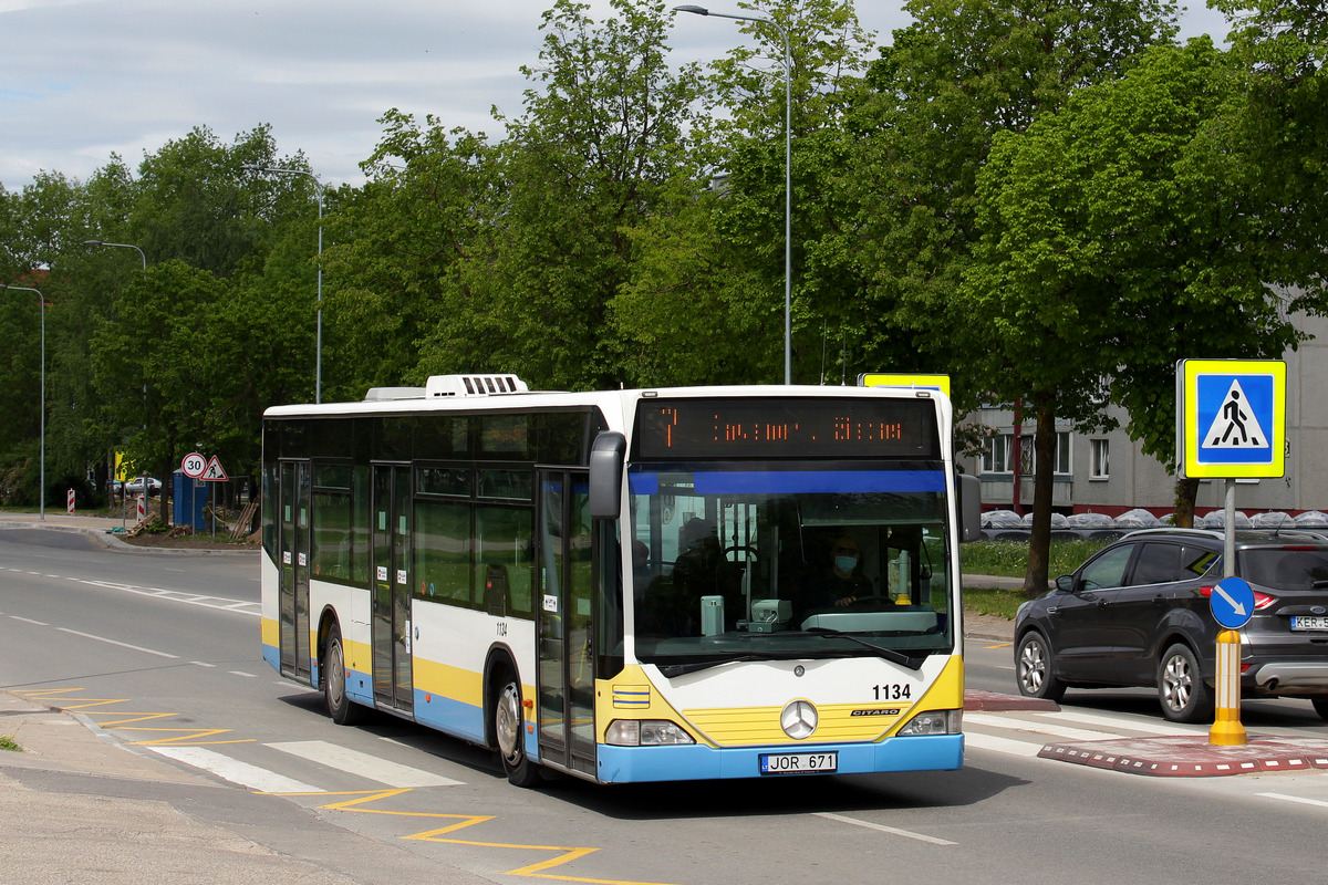 Lithuania, Mercedes-Benz O530 Citaro # 1134