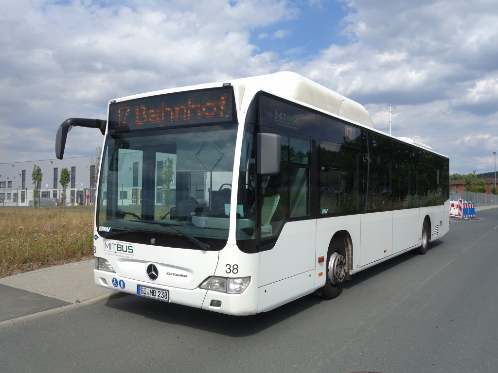 Germany, Mercedes-Benz O530 Citaro CNG # 38