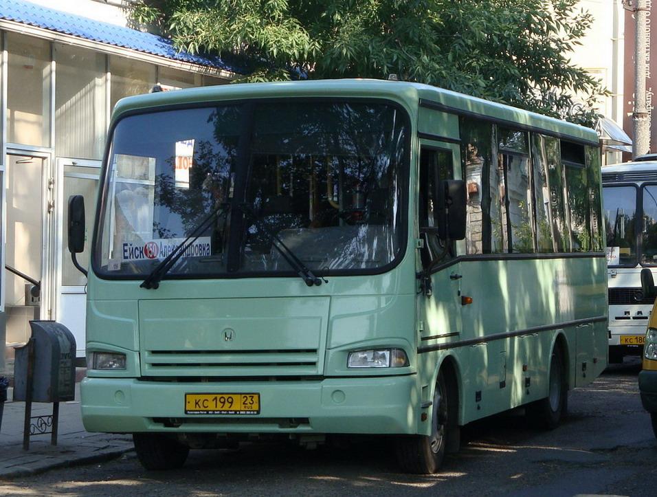фото автобуса до ейска рано