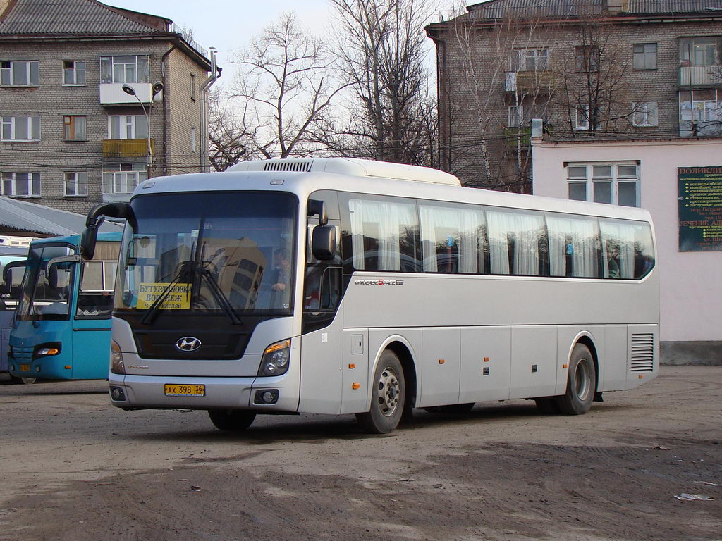 Voronezh region, Hyundai Universe Space Luxury # АХ 398 36