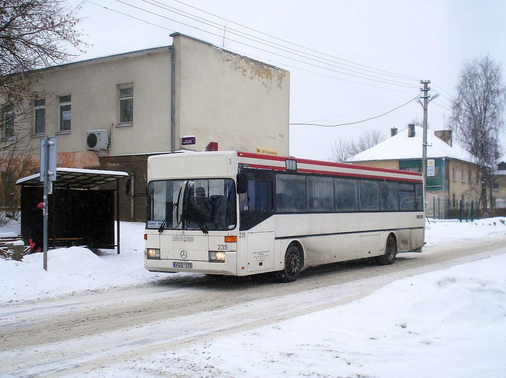 Lithuania, Mercedes-Benz O405 # 235