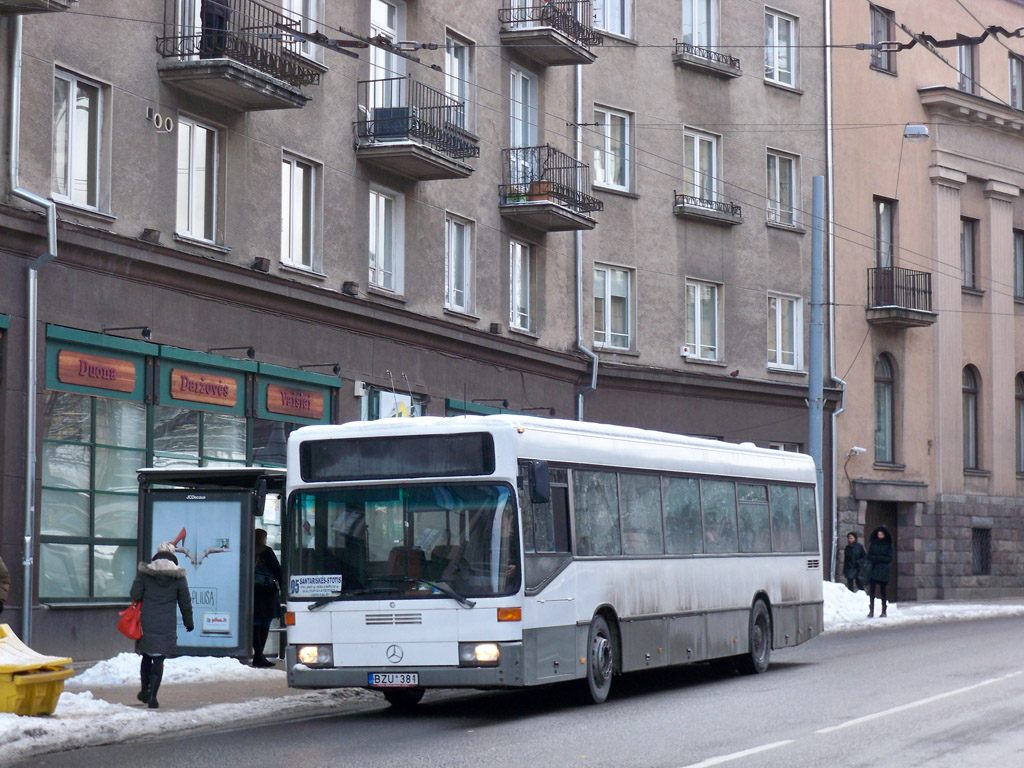 Lithuania, Mercedes-Benz O405N # BZU 381