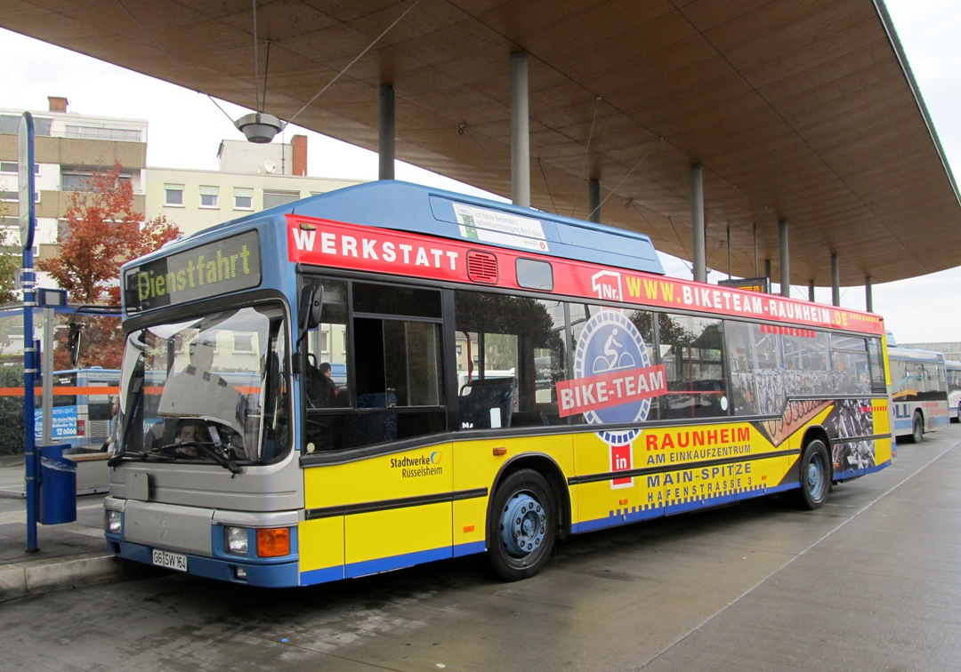 Germany, MAN A15 NL232 CNG # 164