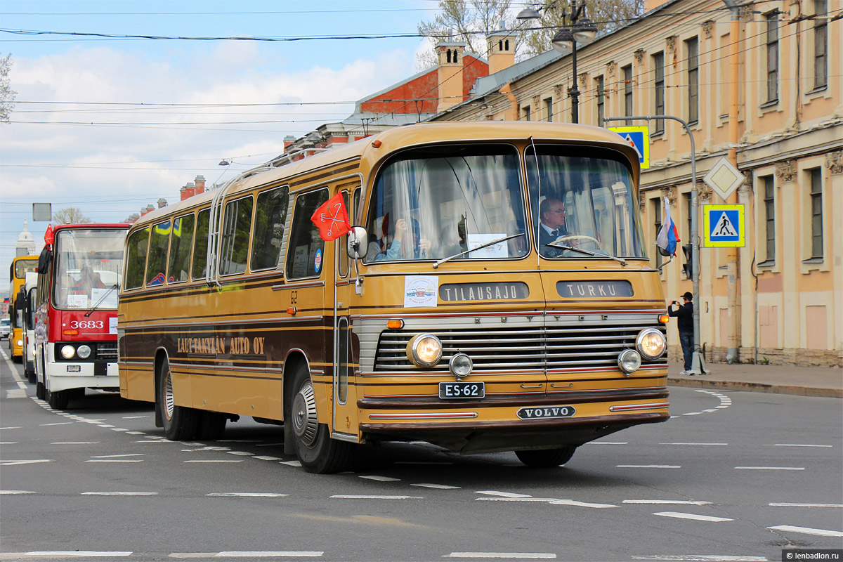 Finland, Kutter 7 # ES-62; Saint Petersburg — 3rd St. Petersburg parade of retro-transport, 21 May 2017