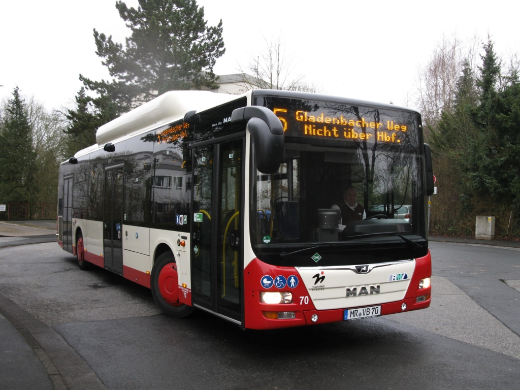 Germany, MAN A21 Lion's City NL313 CNG # 70