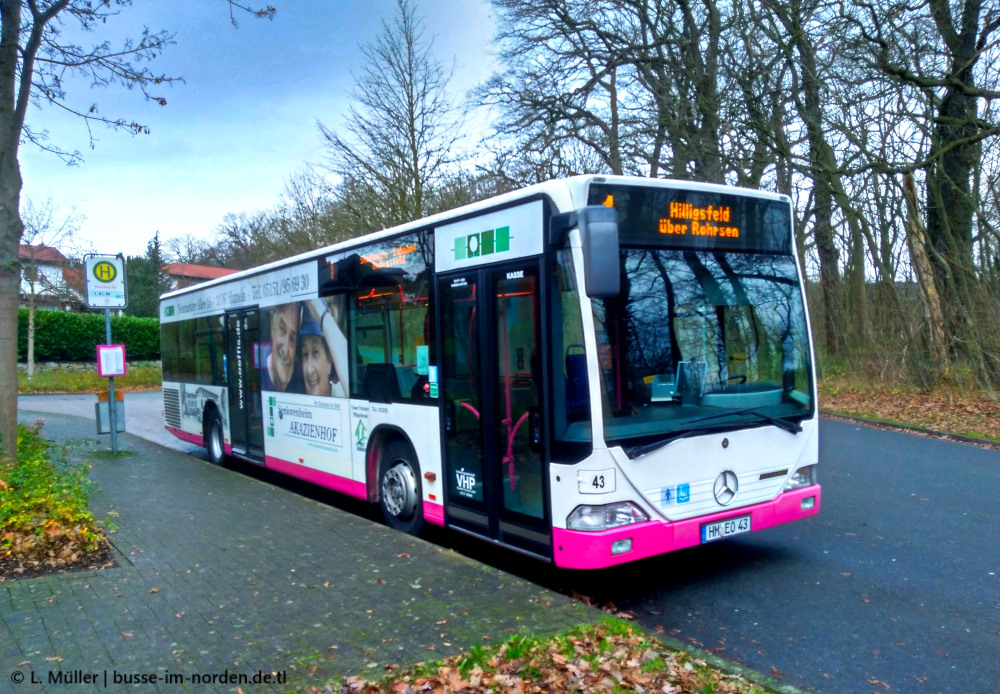 Germany, Mercedes-Benz O530 Citaro # 43