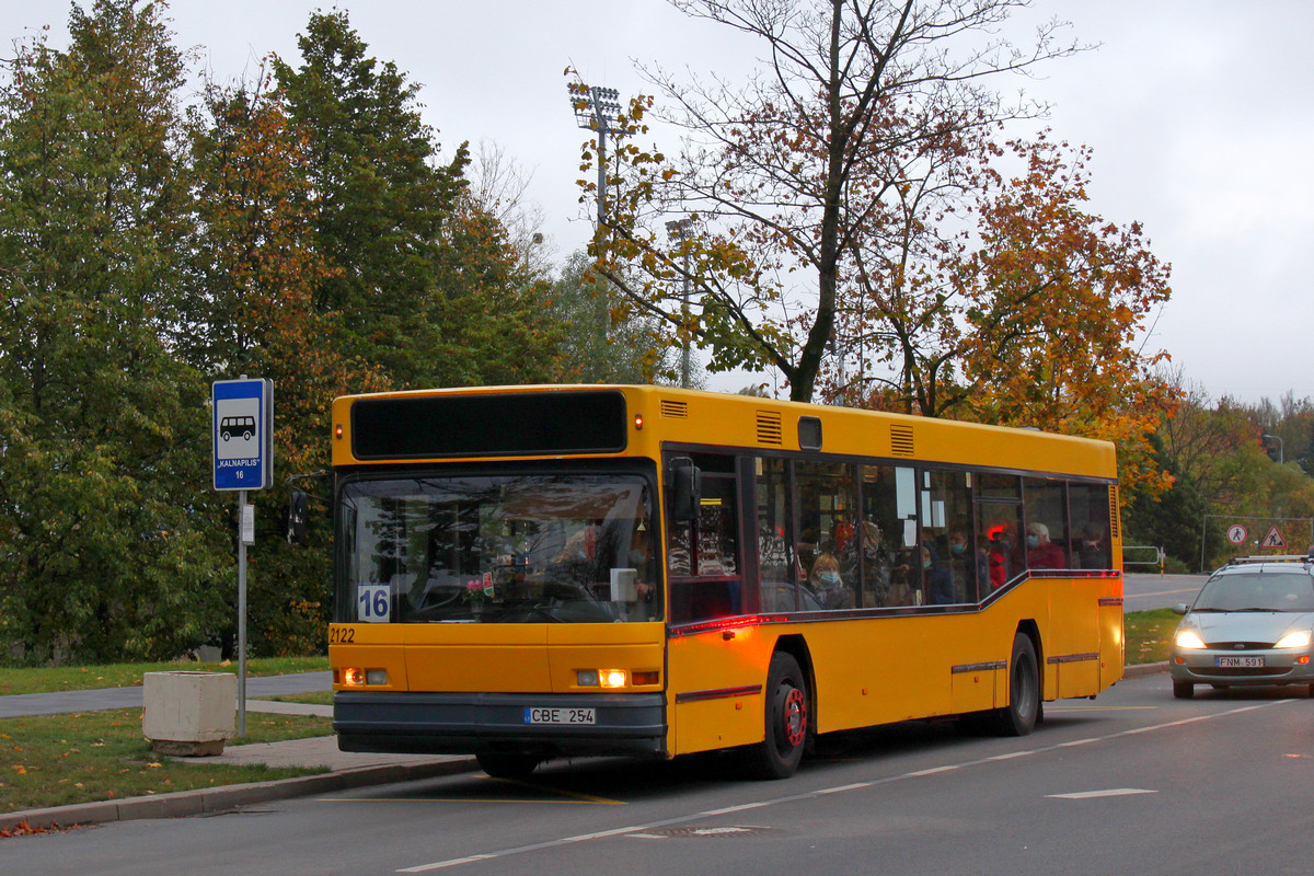 Lithuania, Neoplan N4014NF # 2122